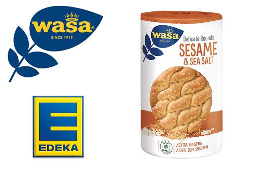 Bild für Cashback-Angebot: Wasa Delicate Rounds Sesame & Sea Salt bei EDEKA - Wasa