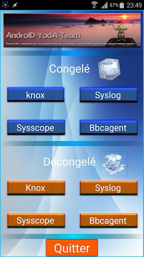 Knox Security Freezer