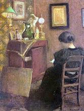 """Photo: Henri Matisse, """"Donna di spalle che legge"""""""