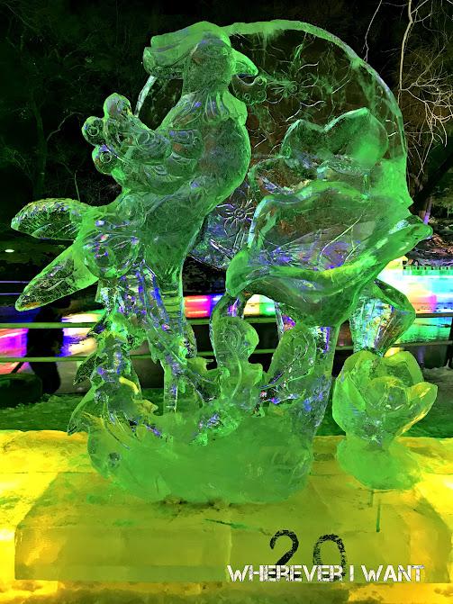 Harbin Zhaolin Park Ice Lantern Fair Guide | Ice Sculpture | Ice Lantern Fair | Harbin, China Guide | Harbin Ice and Snow Festival | Where to go in Harbin | Zhaolin Park Ice Lantern