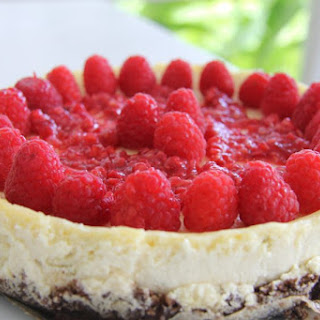 Lime Cheesecake with a Walnut Crust