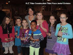 Photo: Briggs Auction Third Place Junior Division