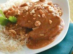 Thai Peanut Chicken / Crock Pot