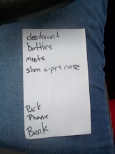 Photo: The list (my how it grows while at the store).