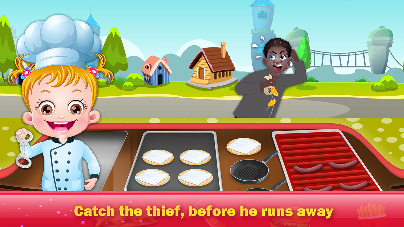 Baby Hazel Food Truck- screenshot