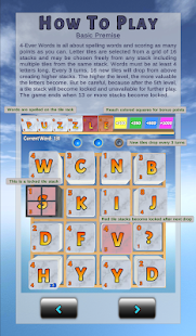 4-Ever Words (Word Building Game) Screenshot