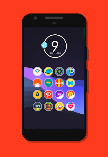 لالروبوت Fondos - Icon Pack تطبيقات screenshot