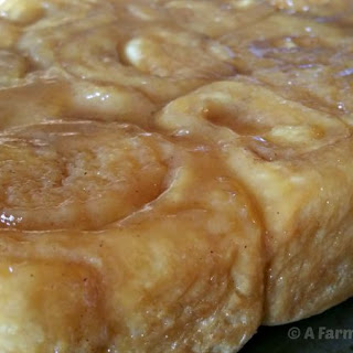 Ice Cream Caramel Rolls Recipe