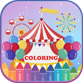 Circus Carnival Party Coloring & Drawing Book Android APK Download Free By Easy.games