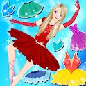 Dress Up Ballerina Doll icon