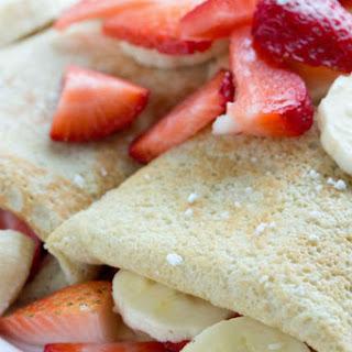 Basic Crepes No Sugar No Flour Recipes.