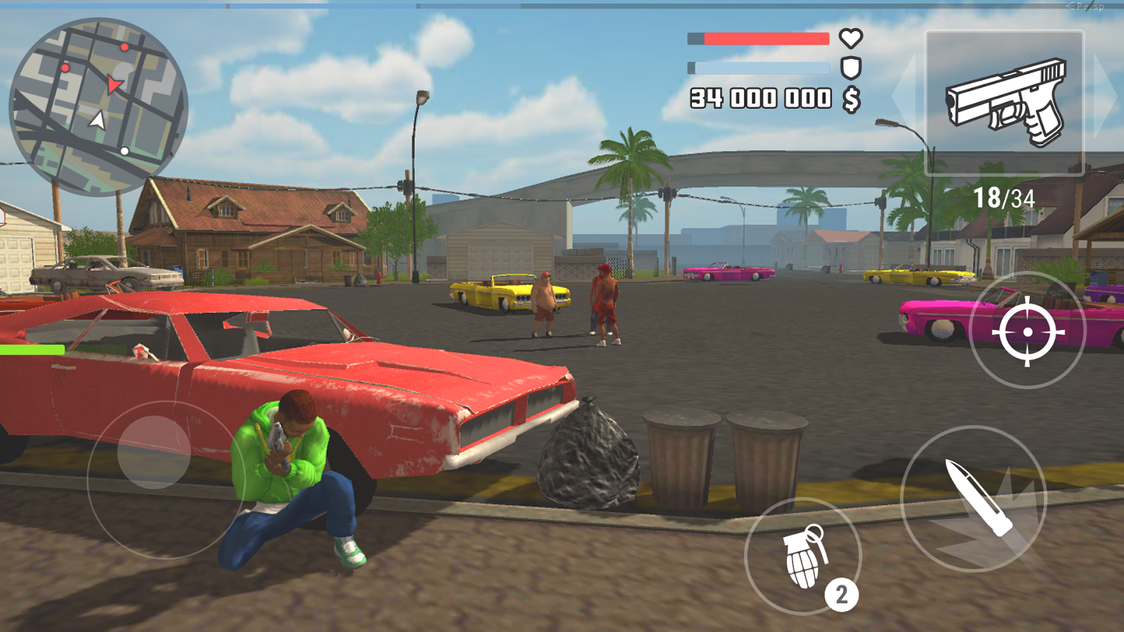 The Grand Wars: San Andreas- screenshot