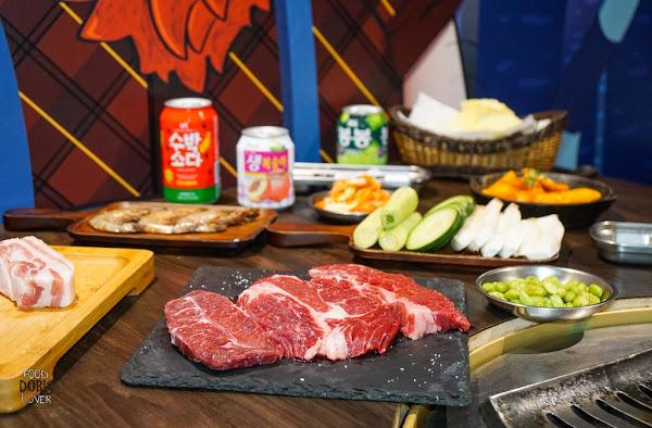 燒桶子韓風立燒 -東區美食餐廳-跟著湖中女神吃韓式燒烤X專人桌邊服務幫烤肉