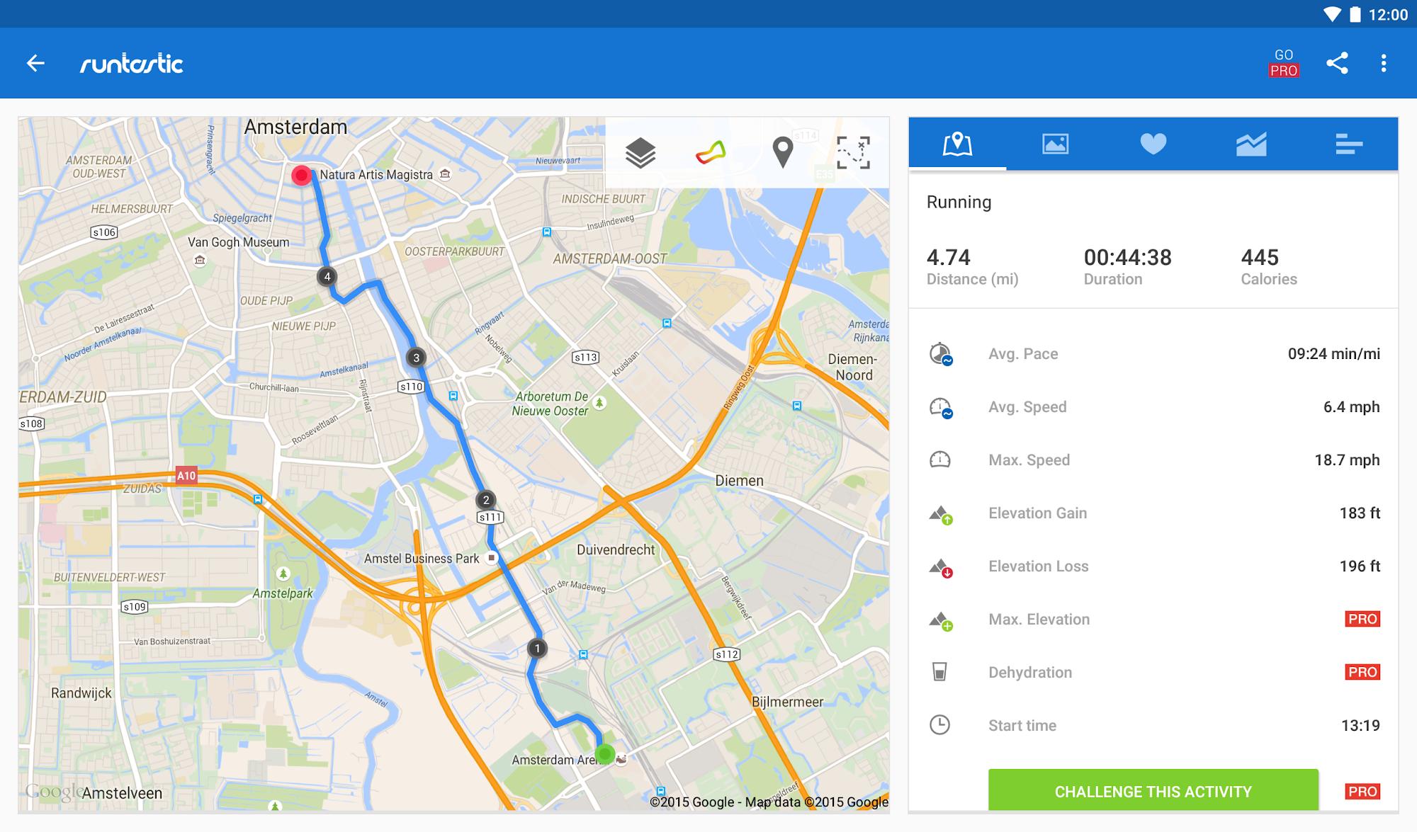 Runtastic Running & Fitness screenshot #12