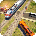 Train Driving Simulator 2017 : Train Racing New
