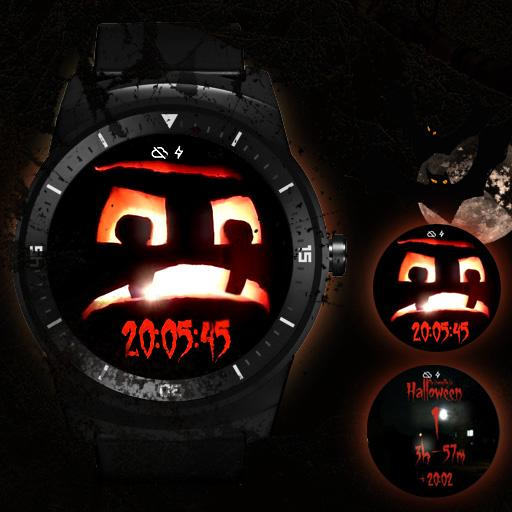 Halloween Pumpkin watch face