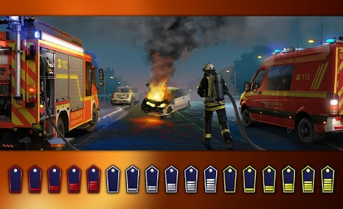 Screenshot 1 Emergency Call – The Fire Fighting Simulation 1.0.1065 APK+DATA hack