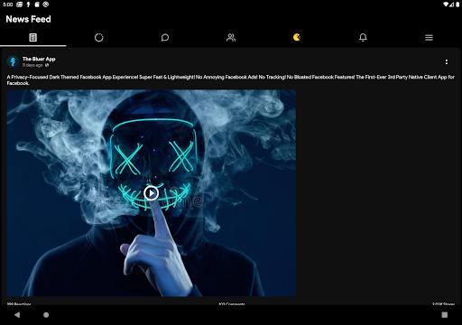 Bluer for Facebook and Messenger 1.6.8 screenshots 9