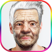 Make Me Old Prank Photo Editor Icon