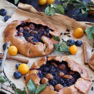 Gluten-Free Blueberry Galette.