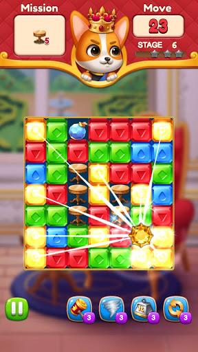 Jewels King : Castle Blast screenshots 8