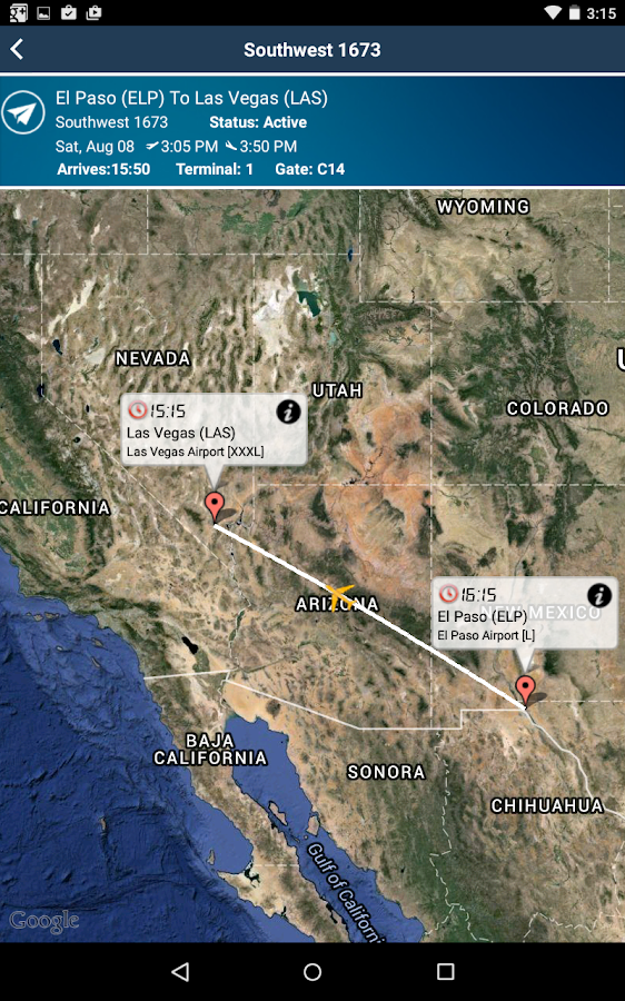 Las Vegas Airport LAS Radar  Android Apps On Google Play