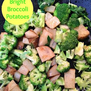 Bright Broccoli Potato Side