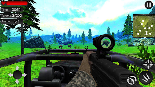 Bear Hunting on Wheels 4x4 - FPS Shooting Game 18 apkmr screenshots 5