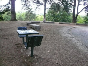 Photo: Tables d'Echecs du Parc de la Tête d'Or près du vélodrome