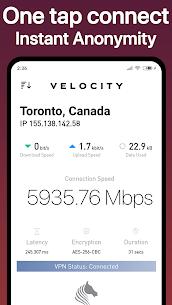 Velocity VPN MOD APK 0.2.3 3