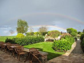 Photo: Double rainbow