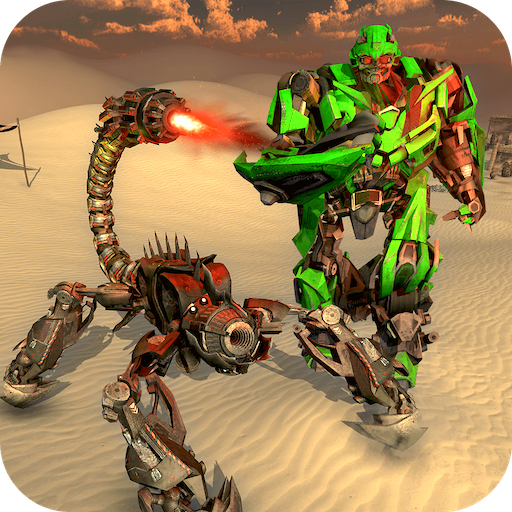 Scorpion Hero Transform Robot Wars