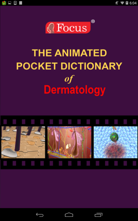 Dermatology - Medical Dict.- screenshot