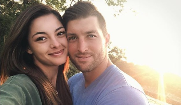 Demi-Leigh Nel-Peters and Tim Tebow are official on the 'gram.