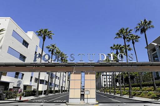 An entrance to Fox Studios in Los Angeles. Picture: REUTERS