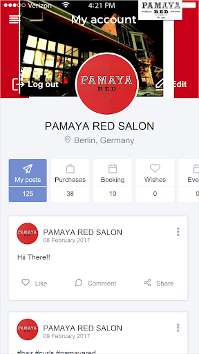 PAMAYA RED SALON  screenshots 2