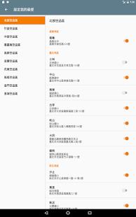 台灣即時霾害 Taiwan PM2.5, PM10, AQI  螢幕截圖 14