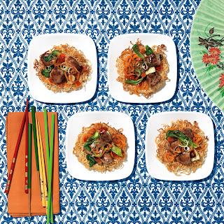 Hoisin Garlic Chow Mein.