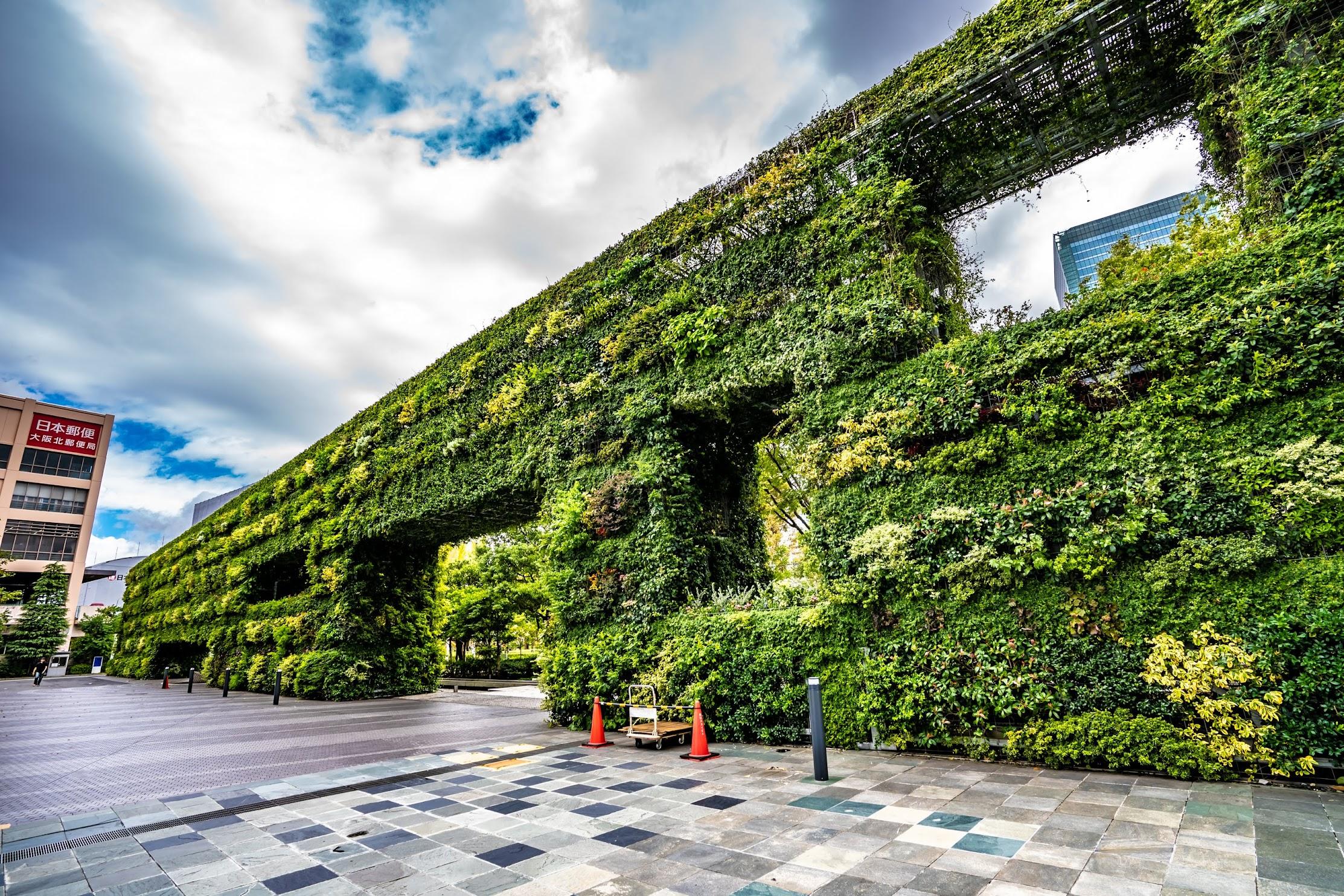 Umeda Sky Building Wall of Hope
