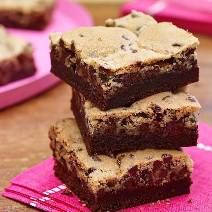Chocolate Mint Crownies Recipe