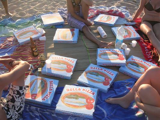 Pizza e sabbia di Lory67