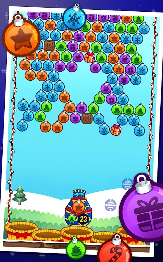 Bubble Shooter Holiday- screenshot