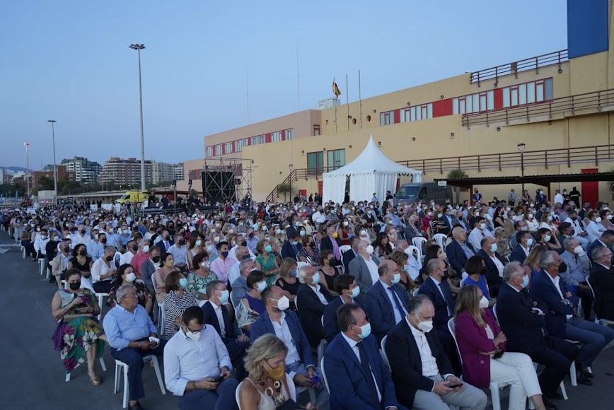 La organización contempló un aforo de 800 personas para la jornada reivindicativa.