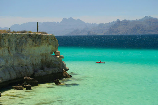 Go on a restorative kayaking adventure in the Bay of Loreto National Marine Park during a Lindblad Expeditions tour.