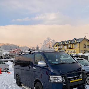 ハイエースバン  H31/4 4WD寒冷地仕様のカスタム事例画像 タニエースさんの2020年01月14日12:37の投稿