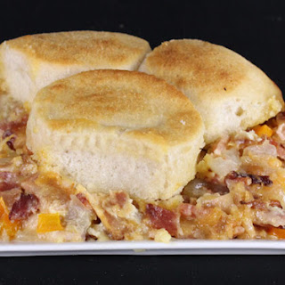 Bacon Biscuit Casserole