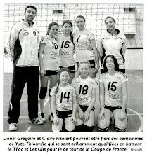 Photo: 11-03-2012 5è tour de coupe de France benjamines