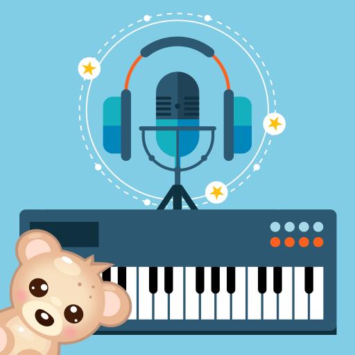 快乐钢琴 - 视唱练耳和自由弹奏! 音樂 App LOGO-APP試玩