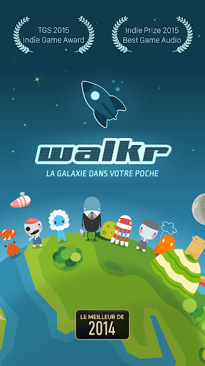 Walkr: Fitness Space Adventure  captures d'écran 1