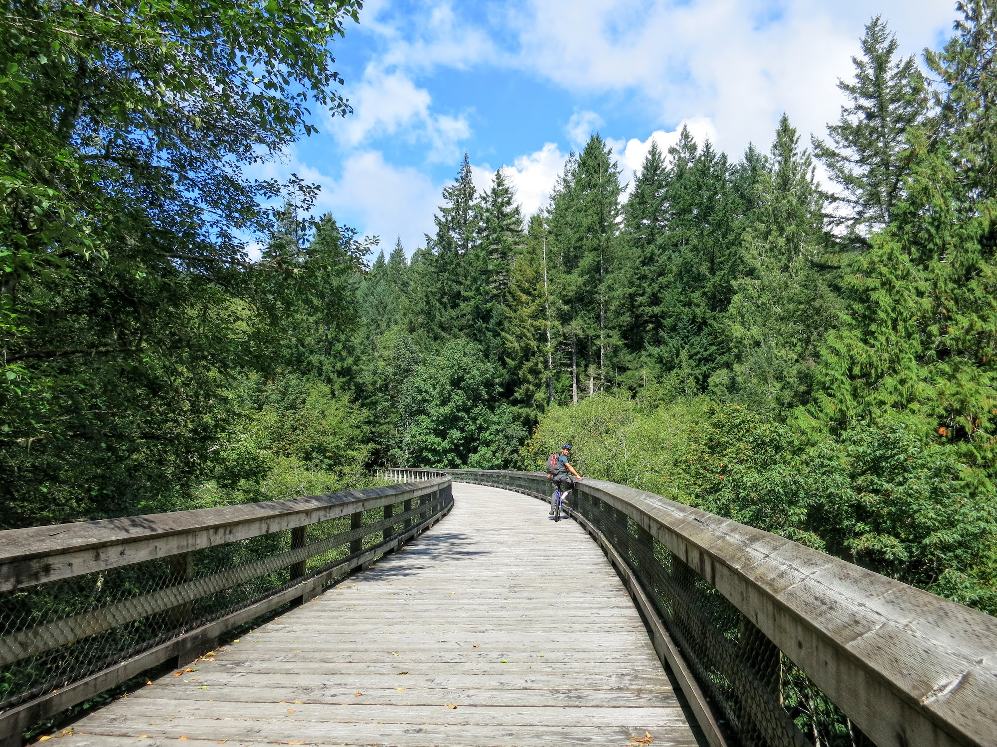 A Day Biking on the Galloping Goose Trail on Vancouver